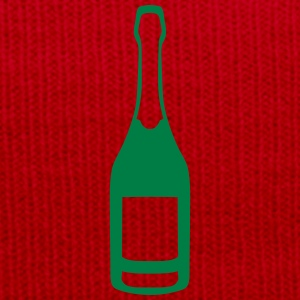Champagne bottle alcohol  24065 T-Shirts - Winter Hat