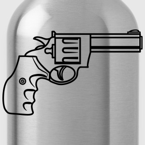 Weapons gun old revolver T-Shirts - Water Bottle