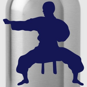 Fight karate icon 17062 T-Shirts - Water Bottle