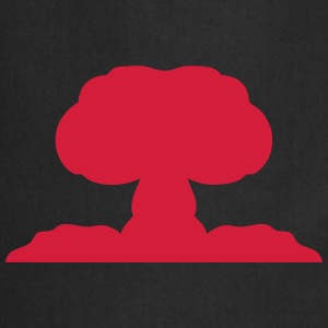 Atomic nuclear explosion icon 21706 T-Shirts - Cooking Apron