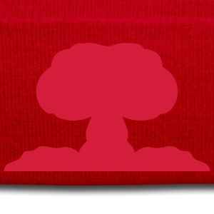 Atomic nuclear explosion icon 21706 Shirts - Winter Hat