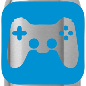 Joystick video game icon 1706 T-Shirts - Water Bottle