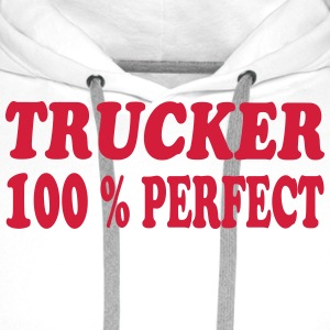 Trucker 100 % perfect 222 T-shirts - Herre Premium hættetrøje