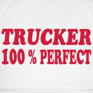 Trucker 100 % perfect 222 T-shirts - Baseballcap