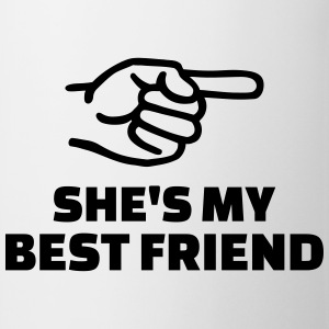 She's my best friend T-Shirts - Tasse