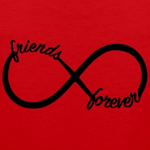 Friends forever T-Shirts - Männer Premium Tank Top