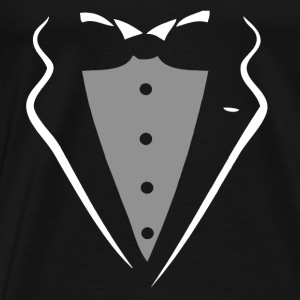 TUXEDO TUXEDO SUIT SHIRT Long Sleeve Shirts - Men's Premium T-Shirt