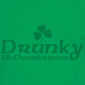 Drunky McDrunkerson - Men's Ringer Shirt