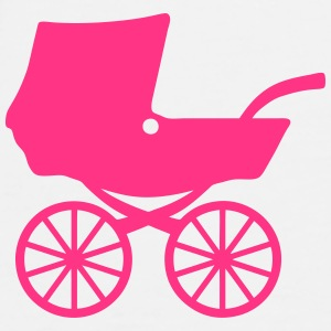 Baby carriage shower pram 406 Tops - Men's Premium T-Shirt