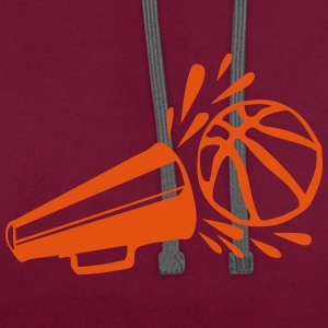 Basketball old Voice-over 9 T-Shirts - Contrast Colour Hoodie