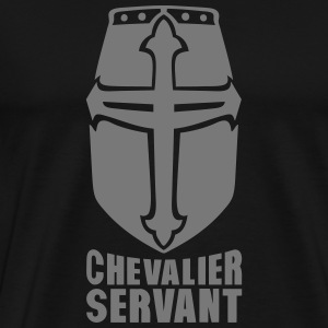 chevalier servant casque ancien 406 Sweat-shirts - T-shirt Premium Homme