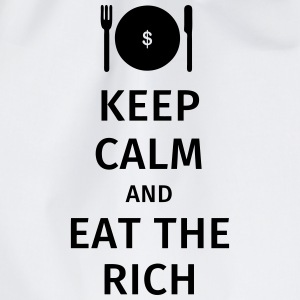 keep calm and eat the rich T-Shirts - Turnbeutel