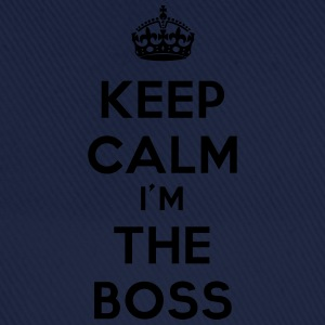 keep calm I'm the Boss - Czapka z daszkiem