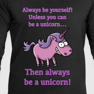 always_be_a_unicorn_072015_c T-Shirts - Männer Sweatshirt von Stanley & Stella