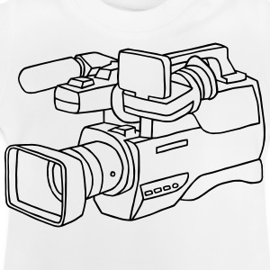 Cámara de video Camisetas - Camiseta bebé