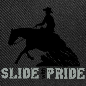 Slide with pride Camisetas - Gorra Snapback