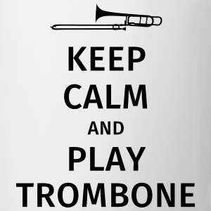 keep calm and play trombone Koszulki - Kubek
