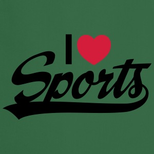 I Love Sports T-Shirts - Cooking Apron