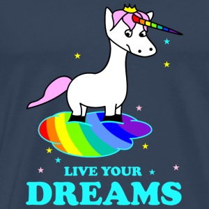 Live your Dreams Övrigt - Premium-T-shirt herr