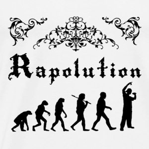 Rap Evolution Toppar - Premium-T-shirt herr