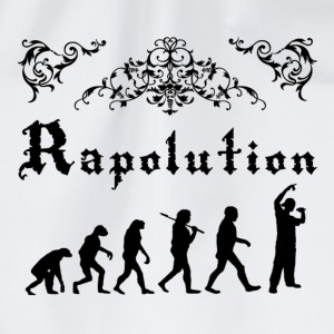 Rap Evolution Camisetas - Mochila saco