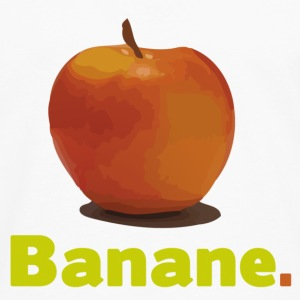 APPLE OR BANANA Babybody - Långärmad premium-T-shirt herr