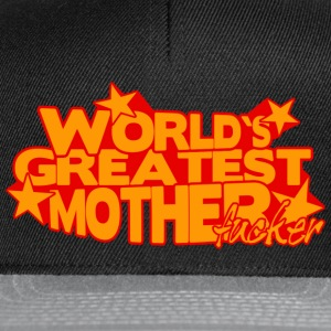 WORLD'S GREATEST MOTHER FUCKER Maglie a manica lunga - Snapback Cap