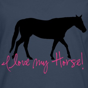 I love my horse Sweat-shirts - T-shirt manches longues Premium Homme