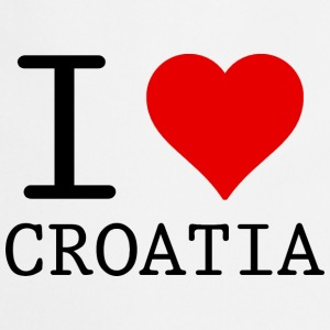 I LOVE CROATIA Tops - Keukenschort