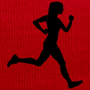 woman running Toppe - Winterhue