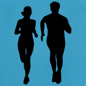 running man and woman Top - Maglietta da uomo traspirante