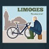 Limoges, The place to be l'homme en bleu Tee shirts - T-shirt Homme