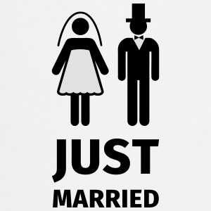 just married T-shirts - Keukenschort