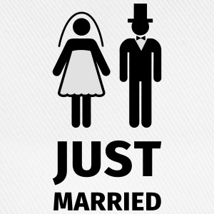 just married T-Shirts - Baseball Cap