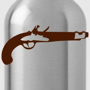 pistol old revolver 306 T-Shirts - Water Bottle