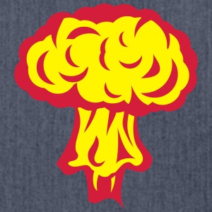 Explosion atomic nuclear mushroom Shirts - Shoulder Bag made from recycled material