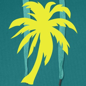 palm tree 3062 T-Shirts - Men's Premium Hoodie