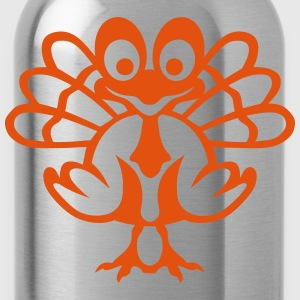 Turkey drawing 206 T-Shirts - Water Bottle