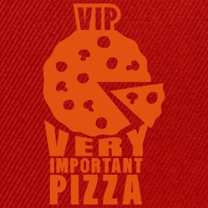 vip very important pizza quote Shirts - Snapback Cap