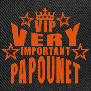 couronne vip very important papounet Tabliers - Casquette snapback