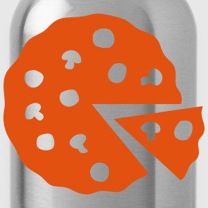 Pizza icon 106 T-Shirts - Trinkflasche