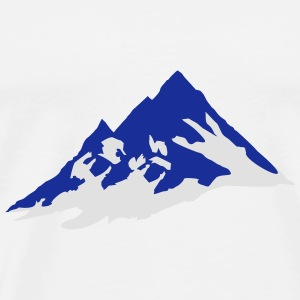 mountain, mountains Sports wear - Men's Premium T-Shirt