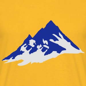 mountain, mountains Tops - Camiseta hombre
