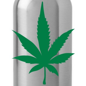 Cannabis leaf 2905 T-Shirts - Water Bottle