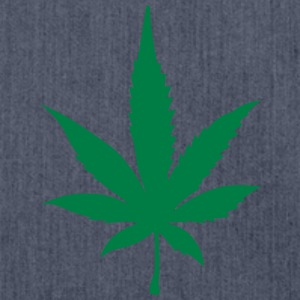 Cannabis leaf 2905 T-Shirts - Shoulder Bag made from recycled material