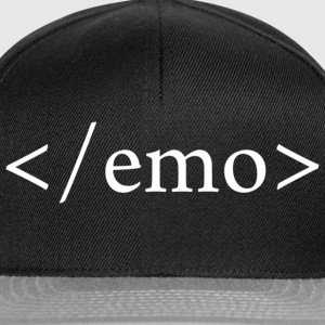 NO EMO Tee shirts - Casquette snapback
