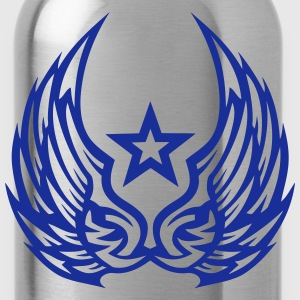 Star wing logo 2805 Long Sleeve Shirts - Water Bottle