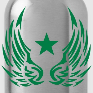 Star wing logo 28052 Long sleeve shirts - Water Bottle