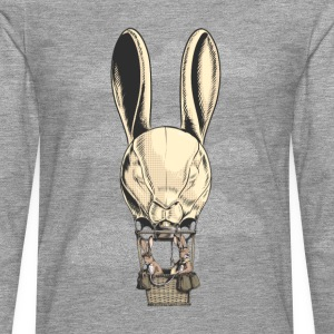 Hot Hare Balloon T-Shirts - Men's Premium Longsleeve Shirt
