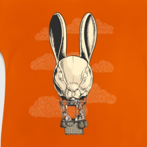 Oranje Hot Hare Balloon Shirts - Baby T-shirt
